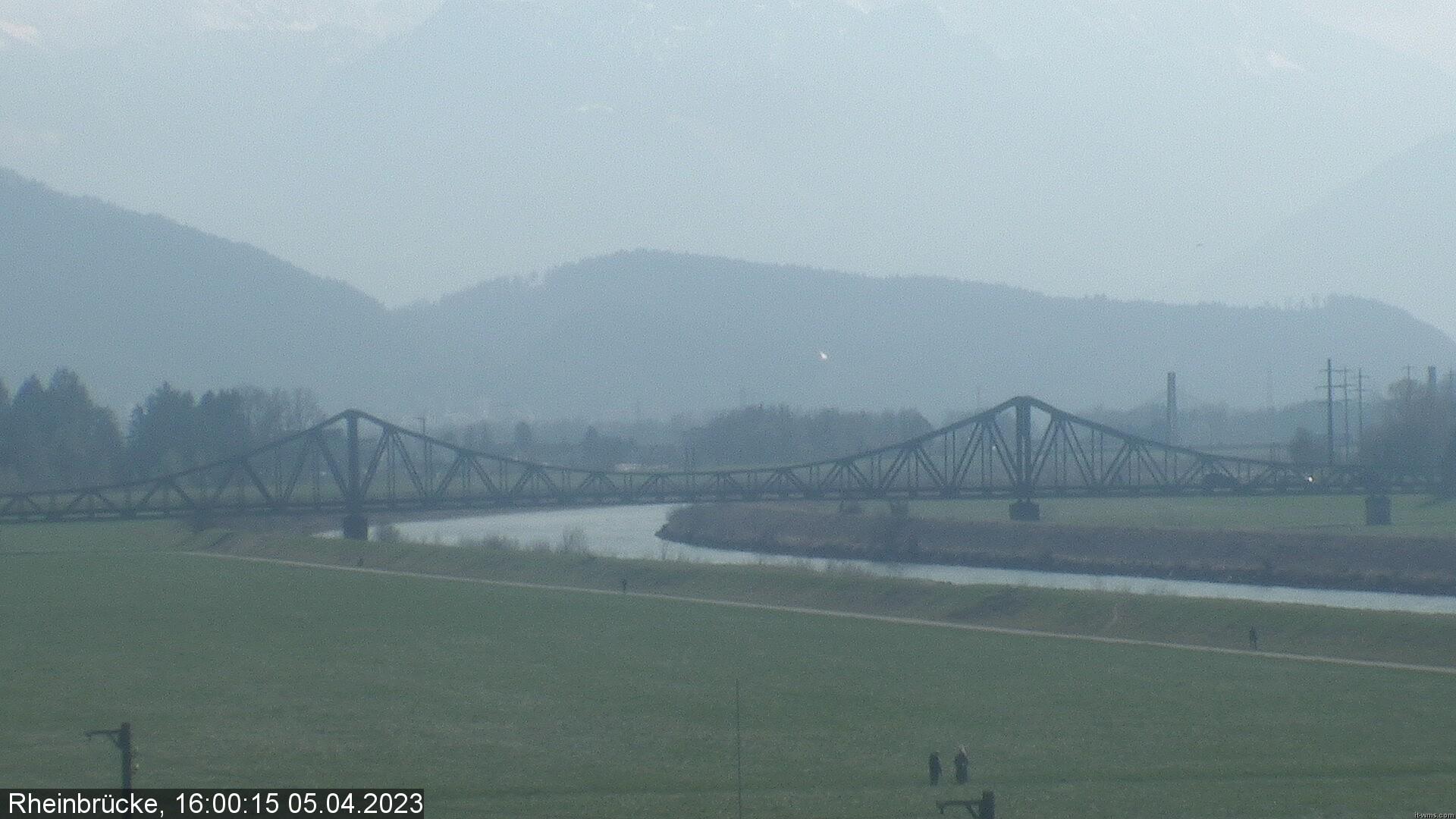 Lustenau Rheinbrücke